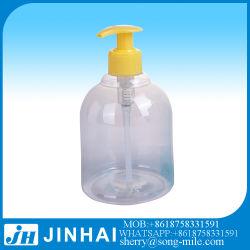 250ml, 500ml Round Lavage des mains distributeur de savon de bouteilles PET de bouteilles