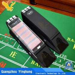 Kasino-bereift schwarzer automatischer Karten-Händler-Schuhstandardbaccarat Qualitäts-Schuhe