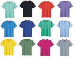 De embleem Afgedrukte T-shirt van de Katoenen Materiële Bevordering van de Reclame