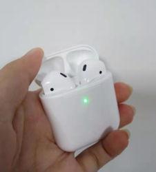 Bluetoothの熱い販売の無線イヤホーンによってはとの空気Podingの第2生成のためのWindowsのヘッドセットEarbudsが現れる