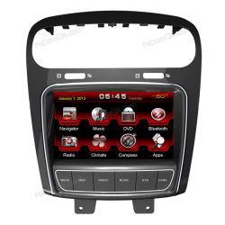 8 pollici Car Audio Stereo System Accessories, Automotive DVD per FIAT Freemont con il GPS & Bluetooth & Radio & Navigator & iPod & TV & USB