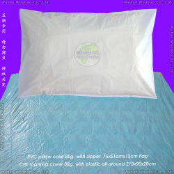 방수 병원 시험 또는 외과 건강 진단 또는 Plastic/SMS/CPE/PVC/Tissue Paper+PE 필름 테이블 또는 소파 또는 매트리스 또는 침대 또는 처분할 수 있는 부직포 PP 베개 덮개