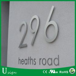 Высокое качество 304 из нержавеющей стали типа привели дом знак номера