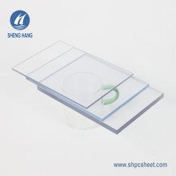 لوح بلاستيكي شفاف مصنوع من زجاج بولي كربونات عالي القوة