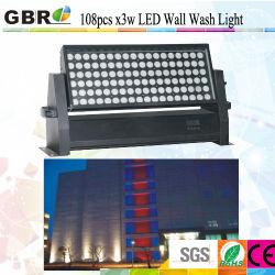 건설 조명/IP65 108 * 3W LED 벽 세척등