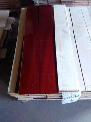 Sapelli Uniclic Engineered Flooring pintura UV Eco-Friendly