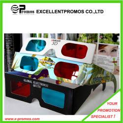 Rouge Bleu Cyan 3 D dimensions du papier de verre 3D (PE-G2141)