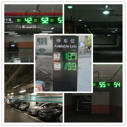 Parking Vehicle Detector를 가진 Tectron Parking Guidance Information System