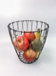 Cestello di frutta a filo flessibile per organizer per la cucina portapane