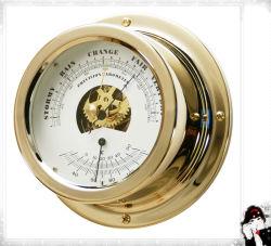 Барометр яхты и латунная гильза 150mm термометра