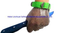 Guanti della maglia del metallo dell'acciaio inossidabile per i guanti della rete metallica acciaio inossidabile/del macellaio