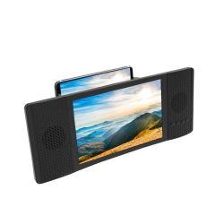 La Chine de haute qualité en usine le support 8 pouces de téléphone mobile 3D HD amplificateur vidéo loupe d'écran