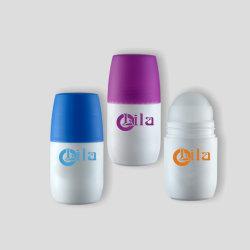 Vacío de la ronda nueva cosmética Venta al por mayor de envases de PP Rodillo botellas botellas para desodorante con Rollo en la rótula