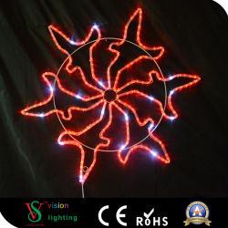 Adornos del árbol de Navidad Decoración de Navidad las luces de copo de nieve