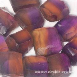 الجوزاء الحجر الخام الطبيعي ثنائي اللون (15-40 غ)