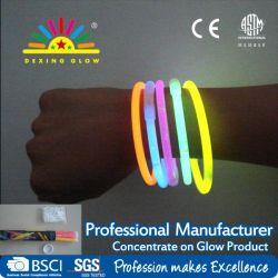 50pcs en el tubo de Glow Stick pulsera, Luz No-Toxic Stick Craft