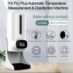 Голос радио и дезинфицирующие средства для термометра мыло сигнал температуры диспенсер-водоочиститель Soap для измерения температуры 1200 мл