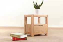 Твердые прикроватном столике из дуба с высоким качеством (M-X1157)