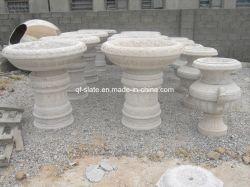 Flowerpot naturale popolare della pietra del granito della Cina, pietra del giardino, pietra (G-FP14)