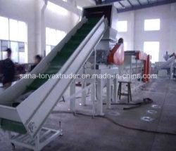 300-1000kg de residuos PP/película PE de la línea de máquina de reciclaje de plástico