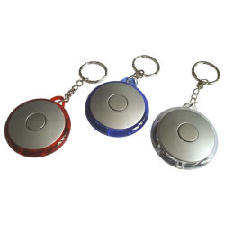 LEIDENE van de Vorm van de Gift van de bevordering het Populaire Ronde Licht van Keychain