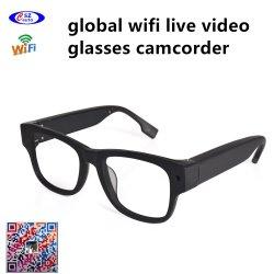 글로벌 WiFi 살아있는 영상 유리 비디오 촬영기 무선 인터넷 영상 모니터 사진기 기록병 (wc002g3)