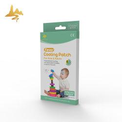 بيع بالجملة الشركة المصنعة السعر الطفل الرعاية المنتج الجص بارد الطفل حمى رقعة جل التبريد