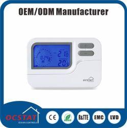Raum-Digital-elektronischer Thermostat-Schalter wöchentlicher Programmalbe Thermostat