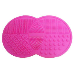 Makeup Brushes Cleaner Mat Handy Effizient Beauty Tools Portable Cosmetic Kit Cleansing Scrubber mit Saugnäpfe Esg12376