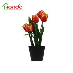 인공 식물 비비드 직물 결혼 집으로 꽃을 피우세요 장식 플로리도