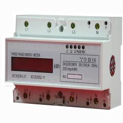 三相電子マルチレートの喧騒柵実行中エネルギーメートル