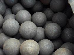 Forjado de 30 mm de bolas de acero pulido de piedras calizas