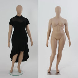 Mannequin pieno sexy della signora Model Plus Size Female del grasso di corpo per la visualizzazione della biancheria