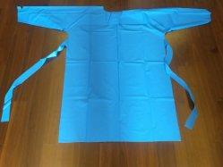 Niveau de l'AAMI PEVA1 Robe d'isolement, Non-Surgical robe, pignon de l'isolement dans l'ensemble, l'isolement, l'isolement des vêtements, vêtements pour Islati No-Stertile et