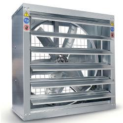 空気ブロアのファン温室250Wの太陽動力を与えられた大規模な換気扇のアルミニウム商業換気装置