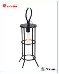 現代簡単な装飾の黒の金属のプロジェクトの机表の照明