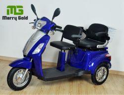 Driewielige 500w Elektrische Driewieler Met Twee Zitplaatsen Voor Uitgeschakeld