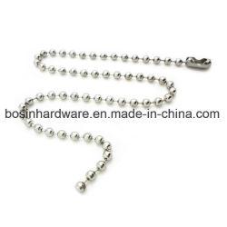 سلسلة معدنية ذات 4 بوصات من الفولاذ النيكل Plated Metal Ball