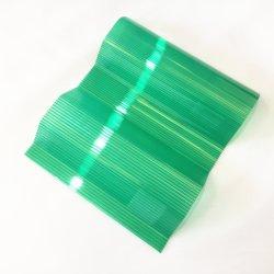 Imprägniernder UVschutz runzelte das 1mm Polycarbonat-Blatt-Dach