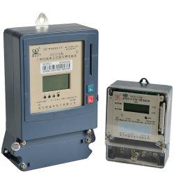 ICのカードによって前払いされる電気メートルの計器KWHのメートル