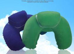 Aufblasbares PVC-Kissen in U-Form