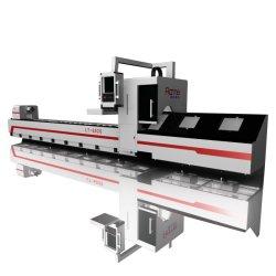 Metal CNC de alta qualidade o tubo de aço e máquinas de corte a Laser de fibra do tubo de equipamento