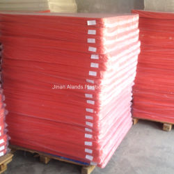 Color rojo de China Corflute PP hoja de plástico hueco Coroplast