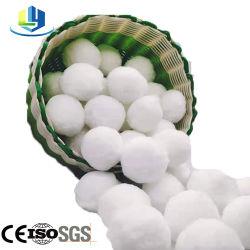 したたる作動したポリエステル線維の球水フィルター材料