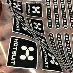 En el cuello del tamaño de papel de impresión de etiquetas impresión de transferencia de calor de la etiqueta de PET de alta estabilidad dimensional de Alta Calidad Bajo encogimiento