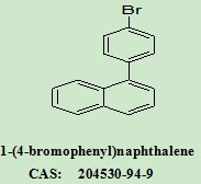 Tussenpersoon OLED met Professioneel R$D Team 1 - (4-bromophenyl) Naftaleen 204530-94-9