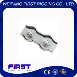 En acier au carbone simplex et duplex galvanisé Wire Rope Clips