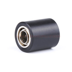 Suave personalizado de caucho negro pequeño Rodillo de presión