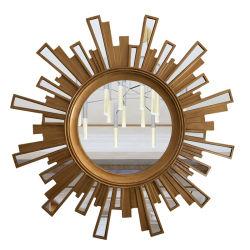 ヨーロッパ式の彫刻の日曜日整形壁の創造的なハングミラー