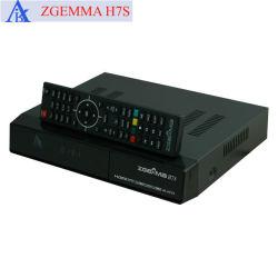 Zgemma H. 7s 4K receptor UHD Dual Core com 2*DVB-S2/S2X+DVB-T2/C sintonizador triplo FTA